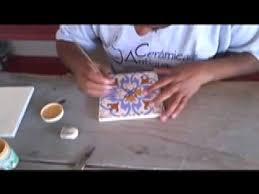 ceramic tile painted tiles