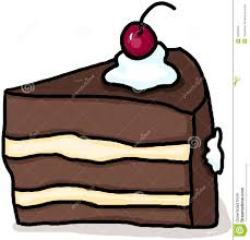 Dessert clipart piece chocolate cake 2