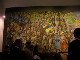 Stalinist Mural Diego Rivera Rockefeller Center by Soeren Puebla 2009 Mexico City