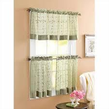 Amazon Lace Kitchen Curtains by White Kitchen Curtains With Black Trim Deductour Com