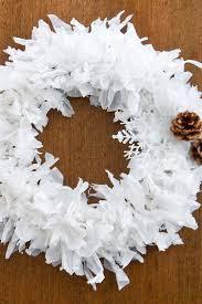 Beautiful Upcycling Plastic Bag Holiday Wreath
