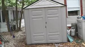 Rubbermaid Storage Shed Accessories Big Max by Rubbermade Big Max Jr Shed Review Youtube