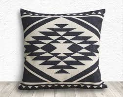 Pillow Cover Aztec Pillow Cover Tribal Pillow Cover Linen
