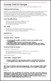 Sample Resume For A Chef Brilliant Ideas Of Fancy Example Objective