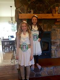 Starbucks Coffee Cup Costumes For Halloween