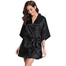 robe de chambre soie amazon fr peignoir soie femme