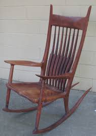 Maloof Rocking Chair Joints by The Craftsman Maloof Style Rocking Chair