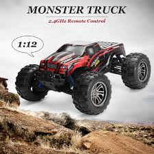 100 Monster Truck Remote Control 112 24G 2WD OffRoad High Speed RTR RC Car Toy