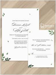 Fresh Printing Wedding Invitations