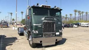 An Old Freightliner Cab-Over Showing Early Signs Of Rebirth Into A ...
