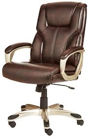 AmazonBasics High-Back Executive Chair - Brown, New, Big, Amazoncom Aingoo Big And Tall Executive Office Chair Vintage Brown Alera Ravino Series Highback Swiveltilt Leather Best Unique Doblepiel Mayline Comfort 6446ag With Pivot Arms Lazboy Elbridge Center Shop For Vanbow Recling High Ofm In Vl685 Ld Products Star Proline Ii Deluxe Back Chairs Bonded Padded Flip Ergonomic Pu Task Titan