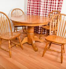100 Round Oak Kitchen Table And Chairs Dining Room Dining Room Decor Ideas High Top