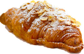 Transparent Library Croissant Almond Freshly Baked France At