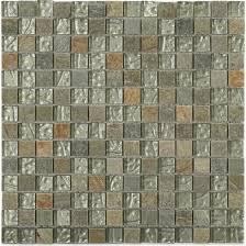 studio autumn series 3 4 squares green slate and white gold mosaic