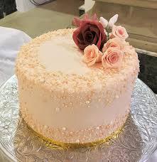 Nude Pearl Wedding Cake
