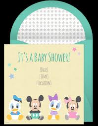 Baby Shower Cards Samples by Mickey Mouse Baby Shower Invitations