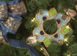 Disney Fantasy Chandelier Inspired Christmas Tree Ornament
