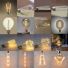 vintage retro filament edison antique industrial style l light