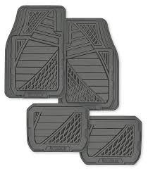Scion Tc Floor Mats by Amazon Com Goodyear Gy6204 Black Universal Premium Rubber Floor