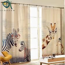 Zebra Curtain by Aliexpress Com Buy Fashionable Korean Style Window Curtain High