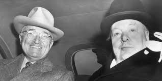 Winston Churchill Delivers Iron Curtain Speech Definition by High Stakes That Time When Churchill And Truman Played Poker