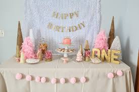 Pink White And Gold Birthday Decorations by White And Gold Party Decorations Gold Party Decorations For The