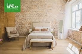 100 Brick Walls In Homes BHG Real Estate On Twitter Walls Bring Texture