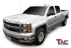 Amazon.com: TAC Side Steps For 2001-2018 Chevy Silverado / GMC ... Truck Hdware Manufacturer Of Gatorback Mud Flaps Gatorgear Chevrolet Trailblazer Pickup Truck Accsories And Autoparts By 8898 Chevy Accsories Carviewsandreleasedatecom 2002 Silverado Unique Installation Of A Trailer Colorado Z71 Hurley Take Functionality To The Beach Gearon Accessory System Is Bed Party 2016 Trail Dictator Offroad Parts Gm Uftring Washington Il Youtube 2017 1500 Pin Brett Loomis On Midnight Edition