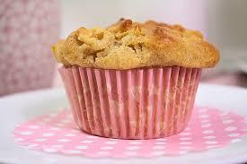 käsekuchen apfel muffins