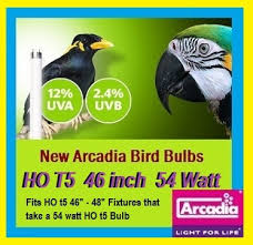 ho t5 arcadia bird bulb 54 watt 46 for ho t5 fixtures