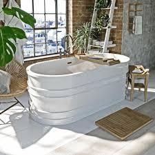 mode hale freestanding bath unique design plum