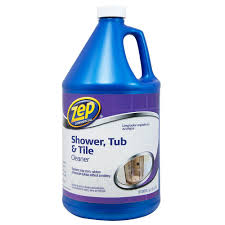 zep 1 gal shower tub and tile cleaner zustt128 the home depot
