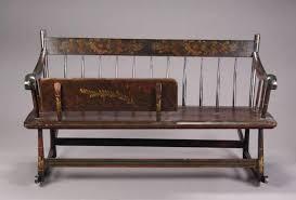 an antique wooden mammy bench rocker current price 0