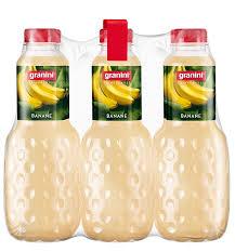granini trinkgenuss bananen nektar 6er pack 6 x 1 l flasche