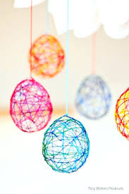How To Make Cool Crafts At Home Craft String Eggs Best For Business