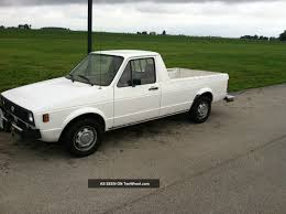 1980 Volkswagen Diesel Rabbit Caddy Pickup Truck