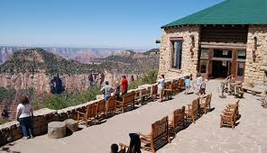 El Tovar Dining Room View by Hotels And Cabins Inside Grand Canyon National Park My Grand