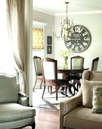 Dining Room Wall Clock Large Clocks Ideas Decorating Gracious Decorate Empty Space With