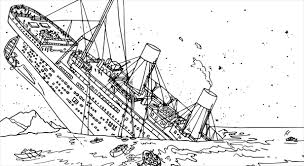 Image Credit Activity Village Titanic Colouring Pages