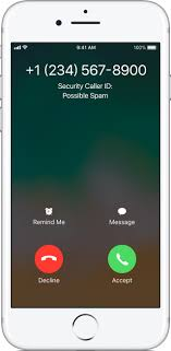 Detect and block spam phone calls with third party apps Apple