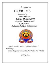 High Ceiling Diuretics Pdf by Word Copy Diuretics