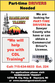 Part-Time Drivers, Namekagon Transit, Hayward, WI Shipex How To Train For Your Class A Cdl While Working Regular Job Riverview Llp Provides Several Parttimefull Mesilla Valley Transportation Truck Driving Jobs Drivers Still Arent Paid For All The Work They Do Leading To Life Lessons From An Uber Driver Snagajob Heartland Express Parttime Driver Namekagon Transit Hayward Wi The Future Of Trucking Uberatg Medium Otr Billings Mt Dts Inc Paul Tulsa Ok Inexperienced Roehljobs