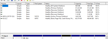 100 Arch D Windows 10 Laptop No Longer Seems To Be Booting To The EFI