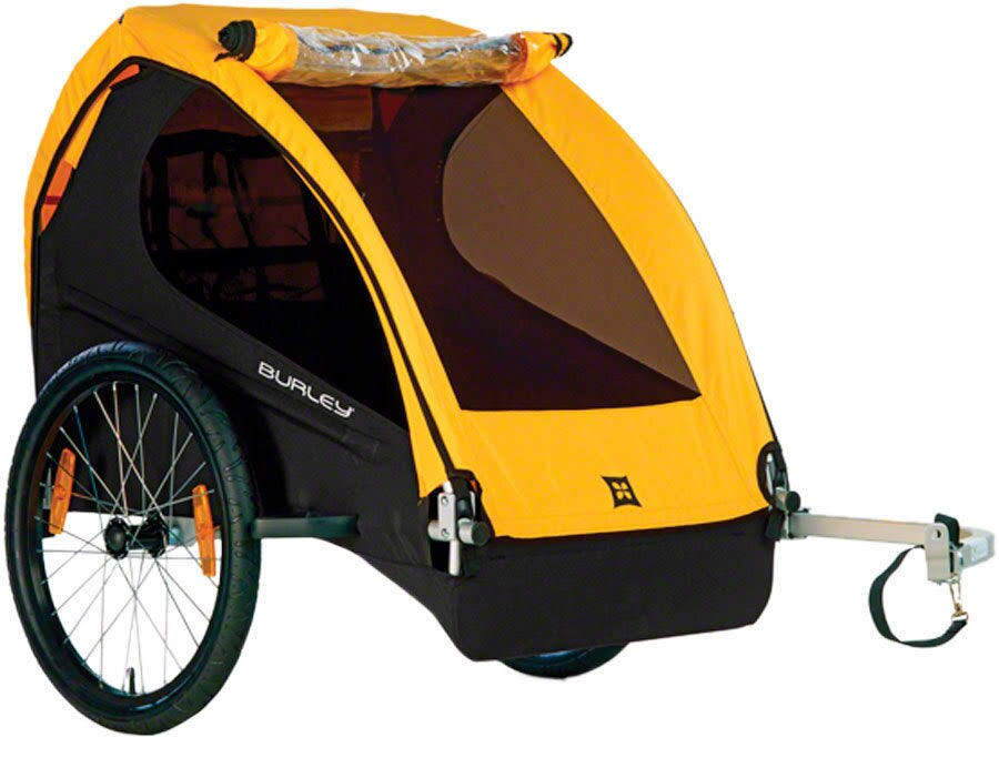 Burley Bee Bike Trailer Stroller - 2 Child Capacity