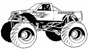 Coloring Pages For Kids Of Trucks | Printable Coloring Page For Kids