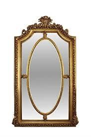 casa padrino spiegel gold 115 x h 215 cm barock wohnzimmerspiegel