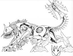 Free Printable Dog Transformers Coloring Pages