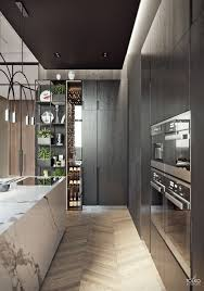100 Luxury Modern Interior Design Luxurious Modern Apartment KITCHEN White Marble Block Kitchen