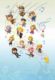Final Fantasy Theatrhythm Curtain Call by Official Art U2013 Theatrhythm Final Fantasy Last Minute Continue