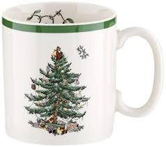 Spode Christmas Tree 75th Anniversary Mug